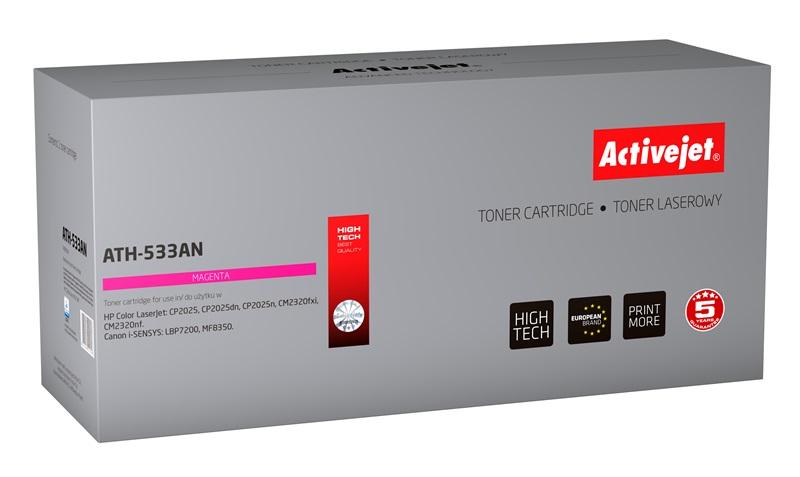 ActiveJet ATH-533AN toner laserowy do drukarki HP (zamiennik CC533A)