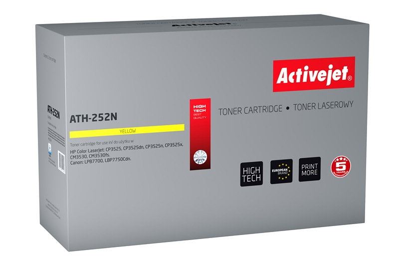 ActiveJet ATH-252N toner laserowy do drukarki HP (zamiennik CE252A)