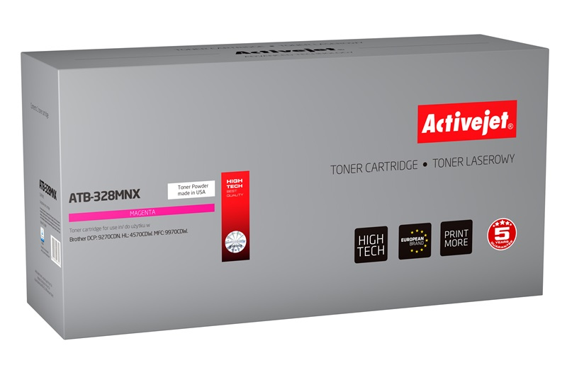 ActiveJet ATB-328MNX toner Magenta do drukarki Brother (zamiennik Brother  TN-328M) Supreme