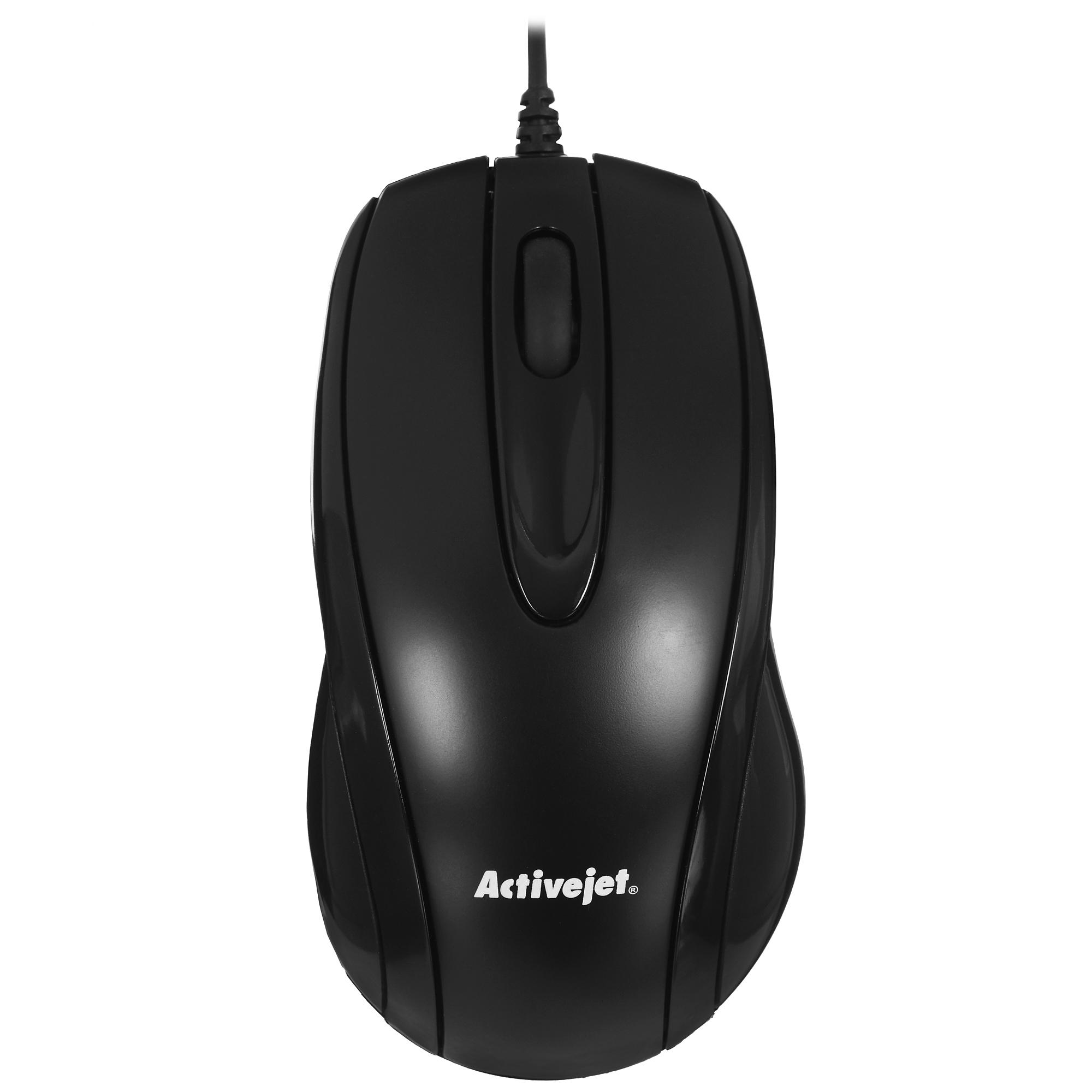 Activejet mysz przewodowa USB AMY-083