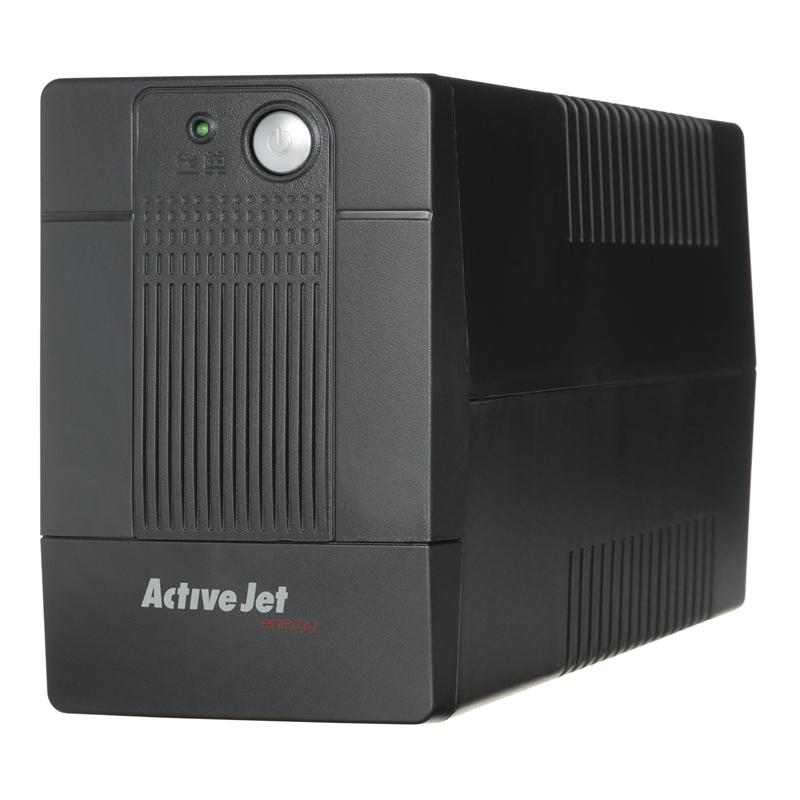 ActiveJet UPS AJE-800VA LED/USB/RJ11/4xIEC/9Ah