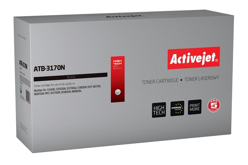Toner Activejet ATB-3170N do drukarki Brother, Zamiennik Brother TN-3060/TN-3170/TN-6600;  Supreme;  7000 stron;  czarny.