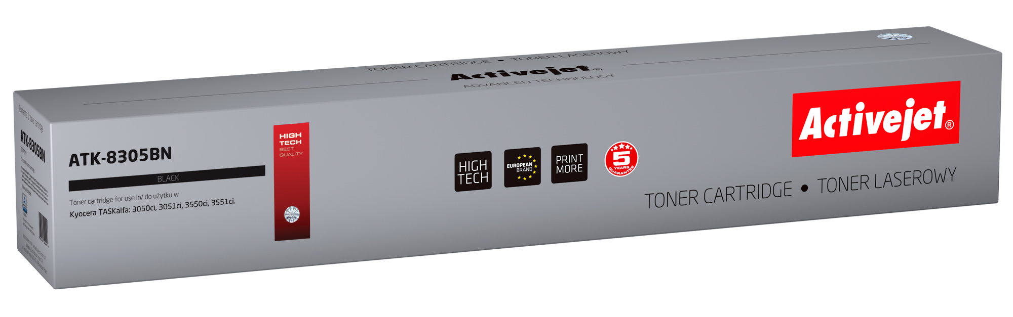 ActiveJet toner do Kyocera TK-8305BK new ATK-8305BN