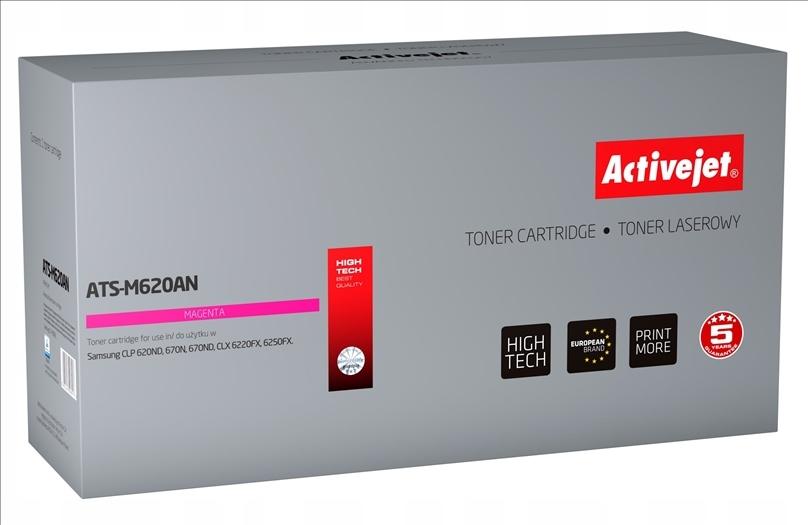 Toner Activejet ATS-M620AN (do drukarki Samsung, zamiennik CLT-M5082L premium 4000str. magenta)