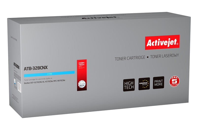 ActiveJet ATB-328CNX toner Cyan do drukarki Brother (zamiennik Brother  TN-328C) Supreme
