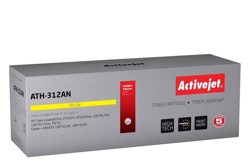ActiveJet ATH-312AN toner laserowy do drukarki HP (zamiennik CE312A)