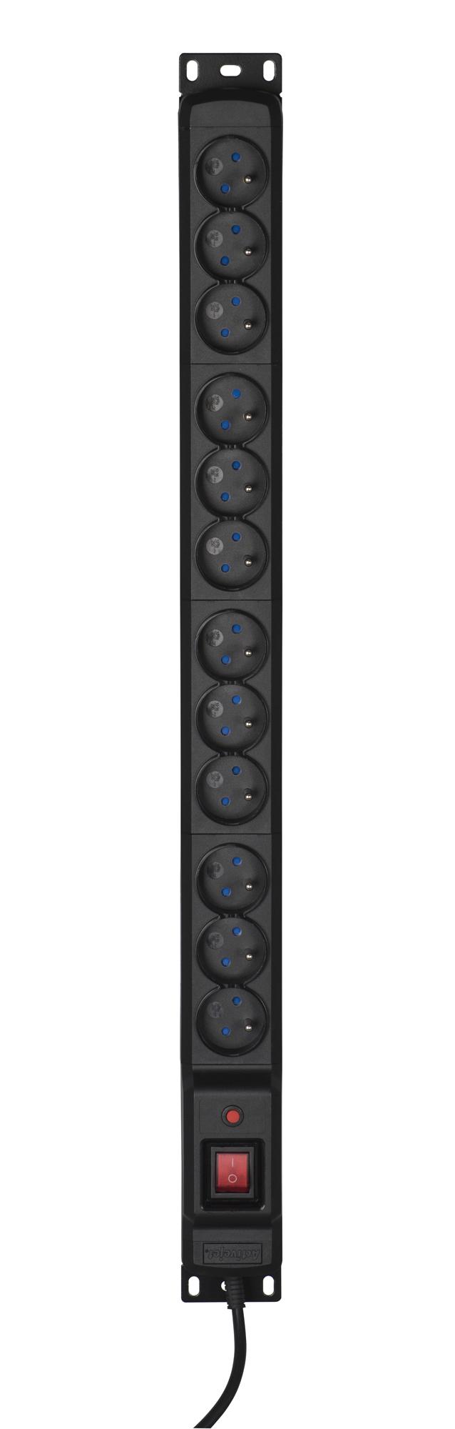 ACJ LISTWA PRZECIWPRZEPIĘCIOWA COMBO 12G1,5m CZARNA