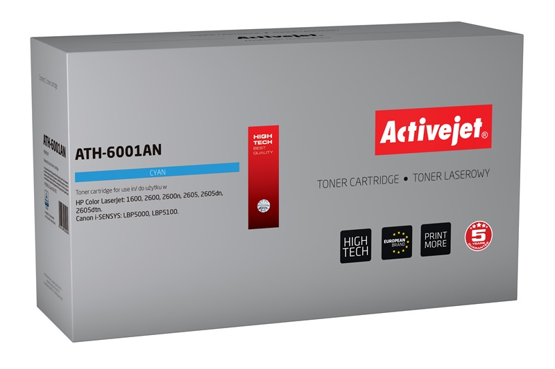 ACJ toner HP 6001A LJ 2600                  AT-601C