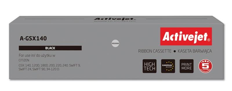 ActiveJet A-GSX140 kaseta barwiąca kolor czarny do drukarki igłowej Citizen (zamiennik GSX140)