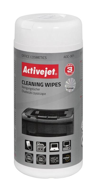 ActiveJet Chusteczki czyszczące