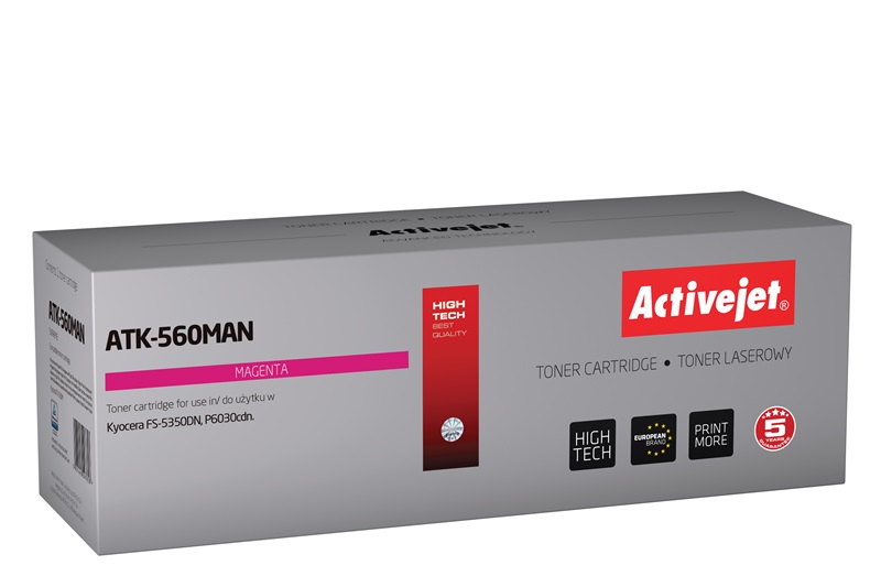 ActiveJet toner do Kyocera TK-560Y new ATK-560YAN