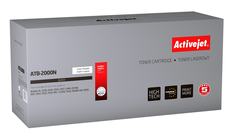 ACJ toner BROTHER HL2030 NEW 100%    AT- 2000N