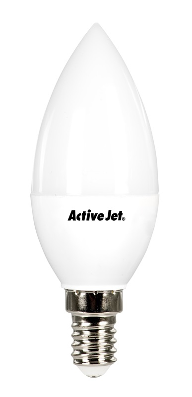 LED SMD AJE-DS4014C Candle 650lm 7W E14 b.ciepła