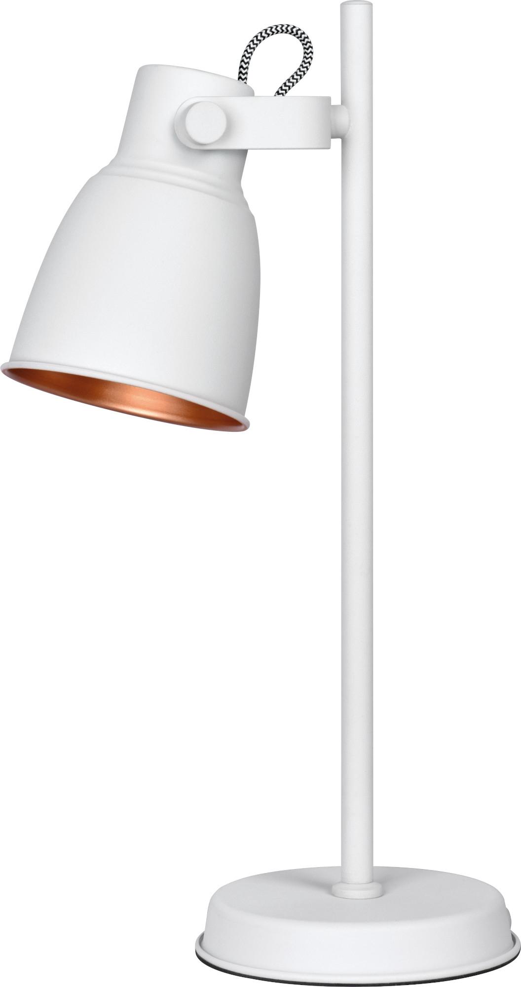 Lampka biurkowa Activejet biała AJE-LOLY White E27