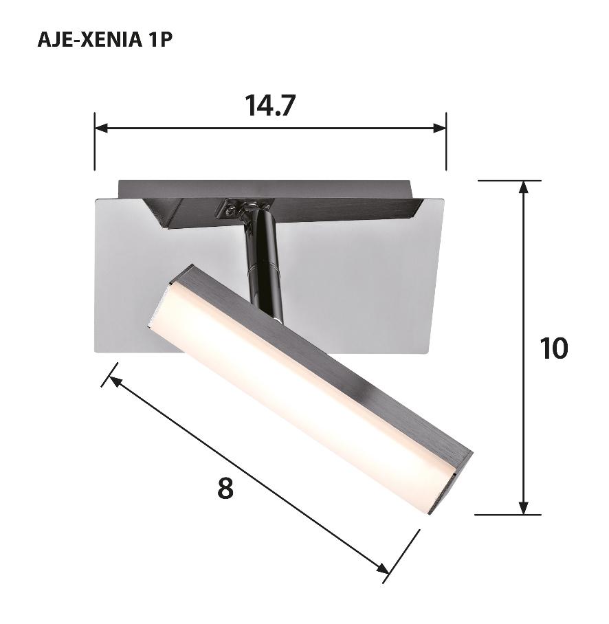Reflektor LED AJE-XENIA 1P 400lm 1x4,6W