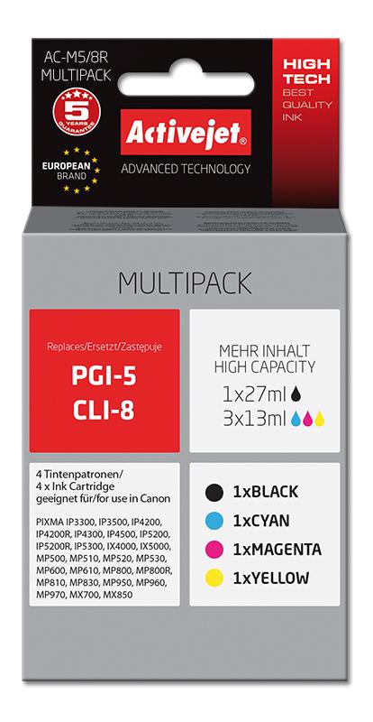 ActiveJet tusz do Canon PGI-5/CLI-8 reg AC-M5/8R