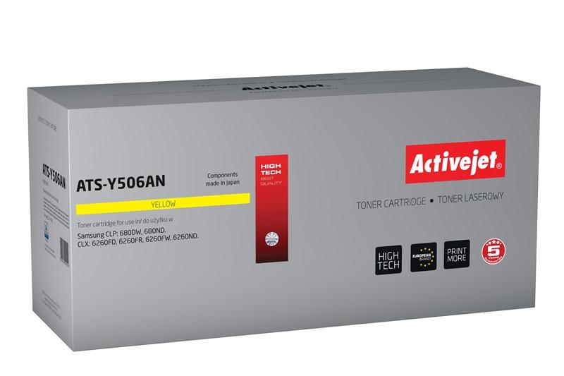 ActiveJet toner do Samsunga CLT-Y506L reg ATS-Y506A