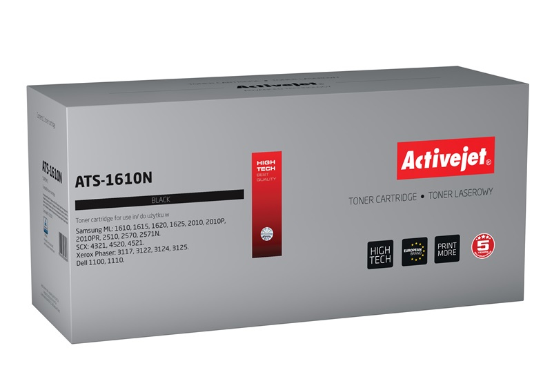 ACJ toner Samsung ML-1610D2 New 100% AT- 1610N..
