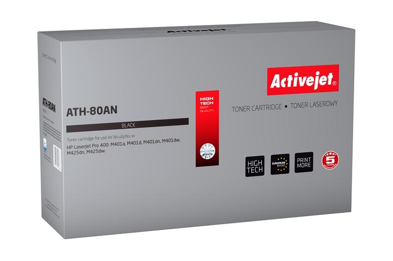 ActiveJet ATH-80AN toner laserowy do drukarki HP (zamiennik CF280A)