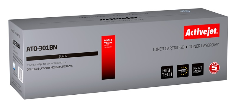 ActiveJet toner do OKI 44973536 new ATO-301BN