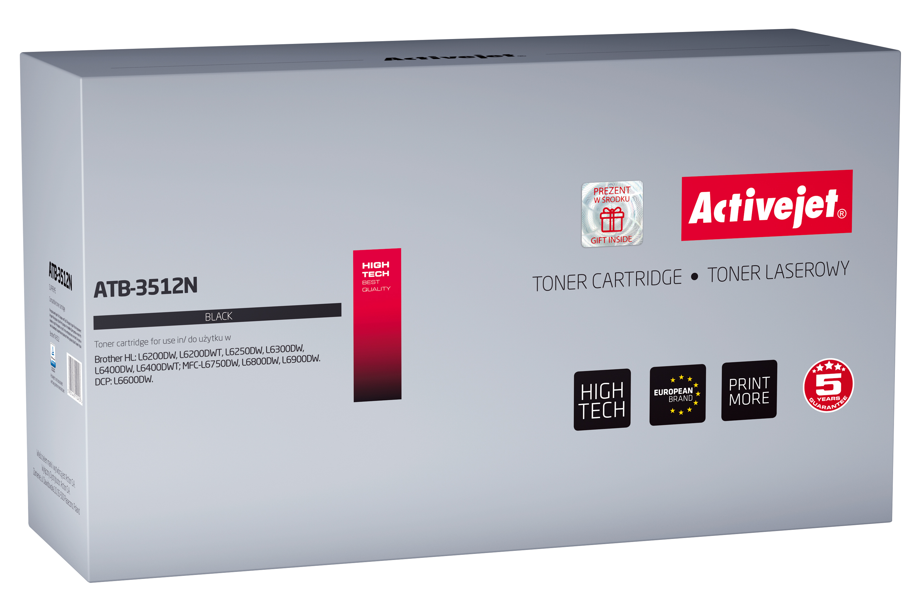 Activejet toner do Brother TN-3512 new ATB-3512N