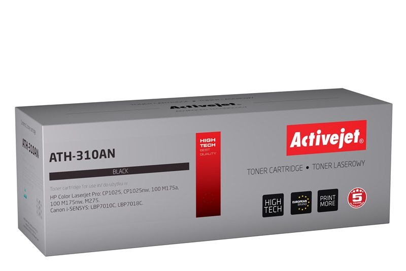 ActiveJet ATH-310AN toner laserowy do drukarki HP (zamiennik CE310A)