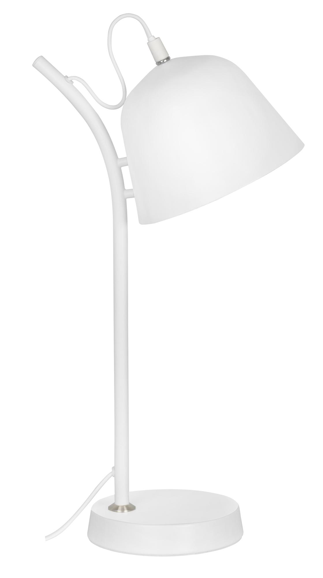 Lampka biurkowa Activejet biała AJE-POLLI White E14