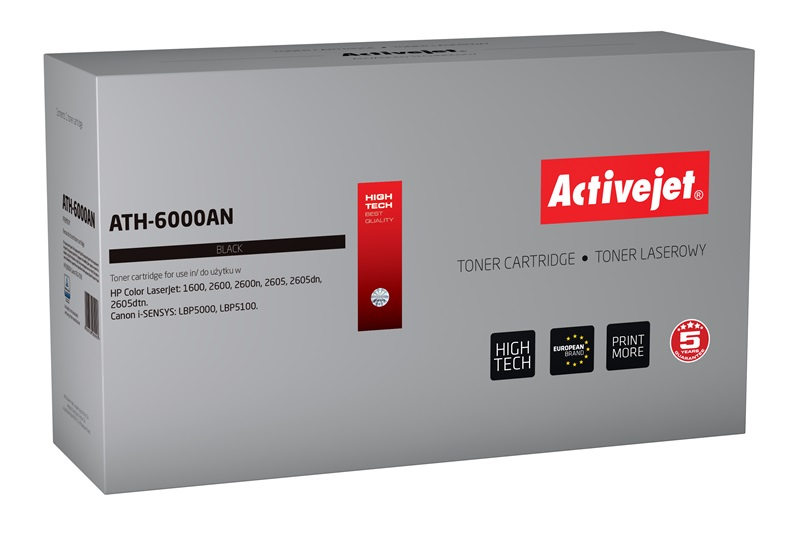 ACJ toner HP 6000A LJ 2600                  AT-600B