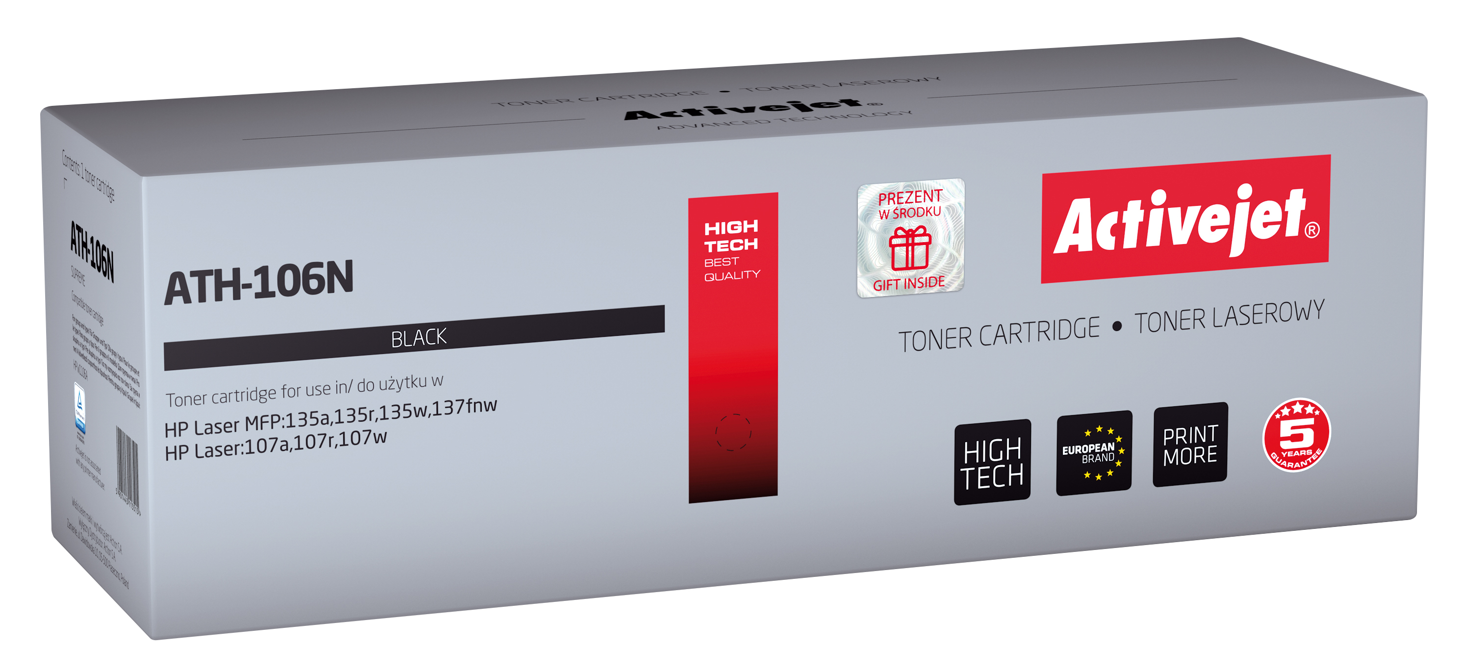 Activejet toner do HP 106A W1106A new ATH-106N