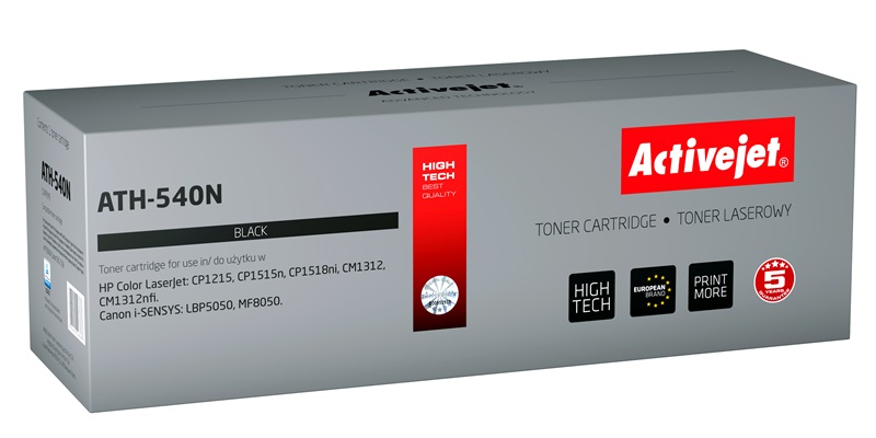 ActiveJet AT-540N toner laserowy do drukarki HP (zamiennik CB540A)