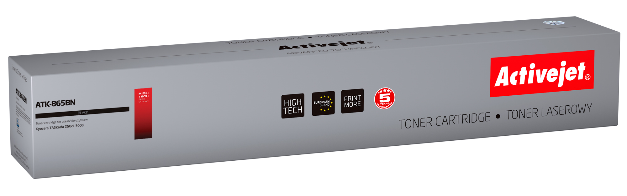 ActiveJet toner do Kyocera  TK-865K new ATK-865BN