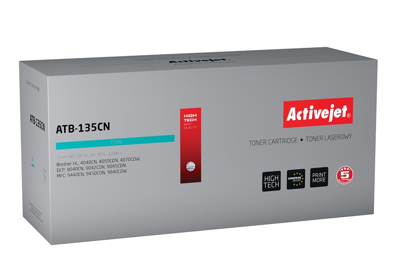 ActiveJet ATB-135CN [AT-135CN] toner laserowy do drukarki Brother (zamiennik TN135C)