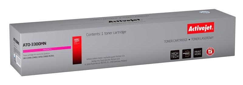 ActiveJet ATO-3300MN [AT-3300MN] toner laserowy do drukarki OKI (zamiennik 43459330)