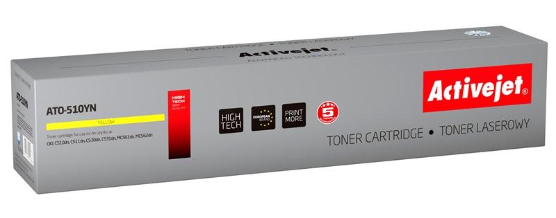 ActiveJet ATO-510YN toner laserowy do drukarki OKI (zamiennik 44469722)