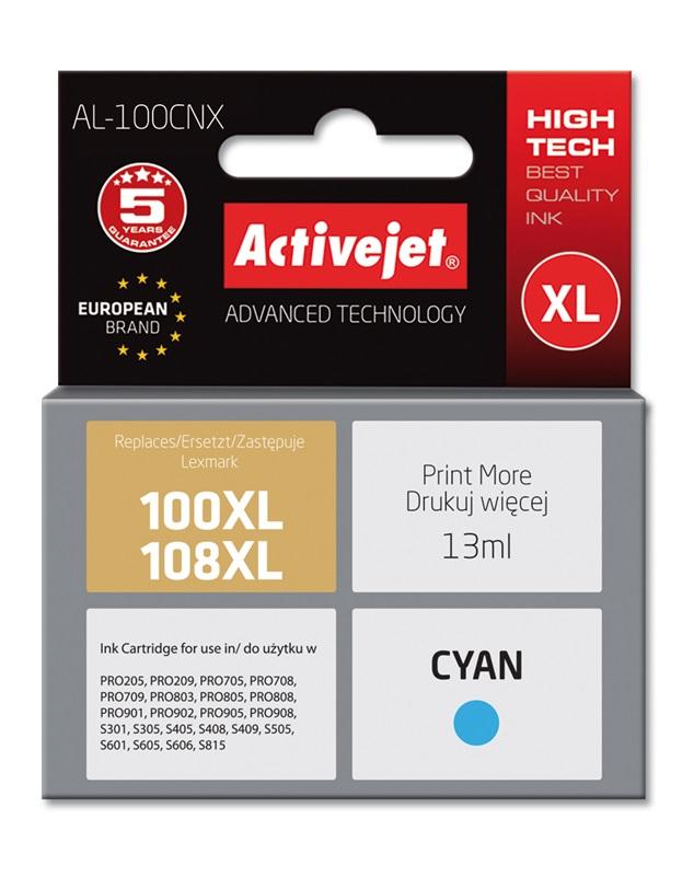 ActiveJet AL-100C tusz Cyan do drukarek Lexmark