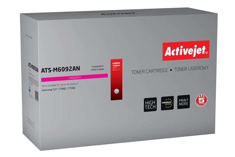 ActiveJet toner do Samsung CLT-M6092S reg ATS-M6092