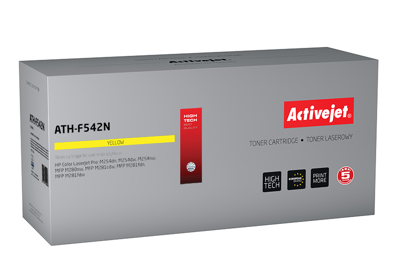 Activejet toner do HP CF542A new ATH-F542N