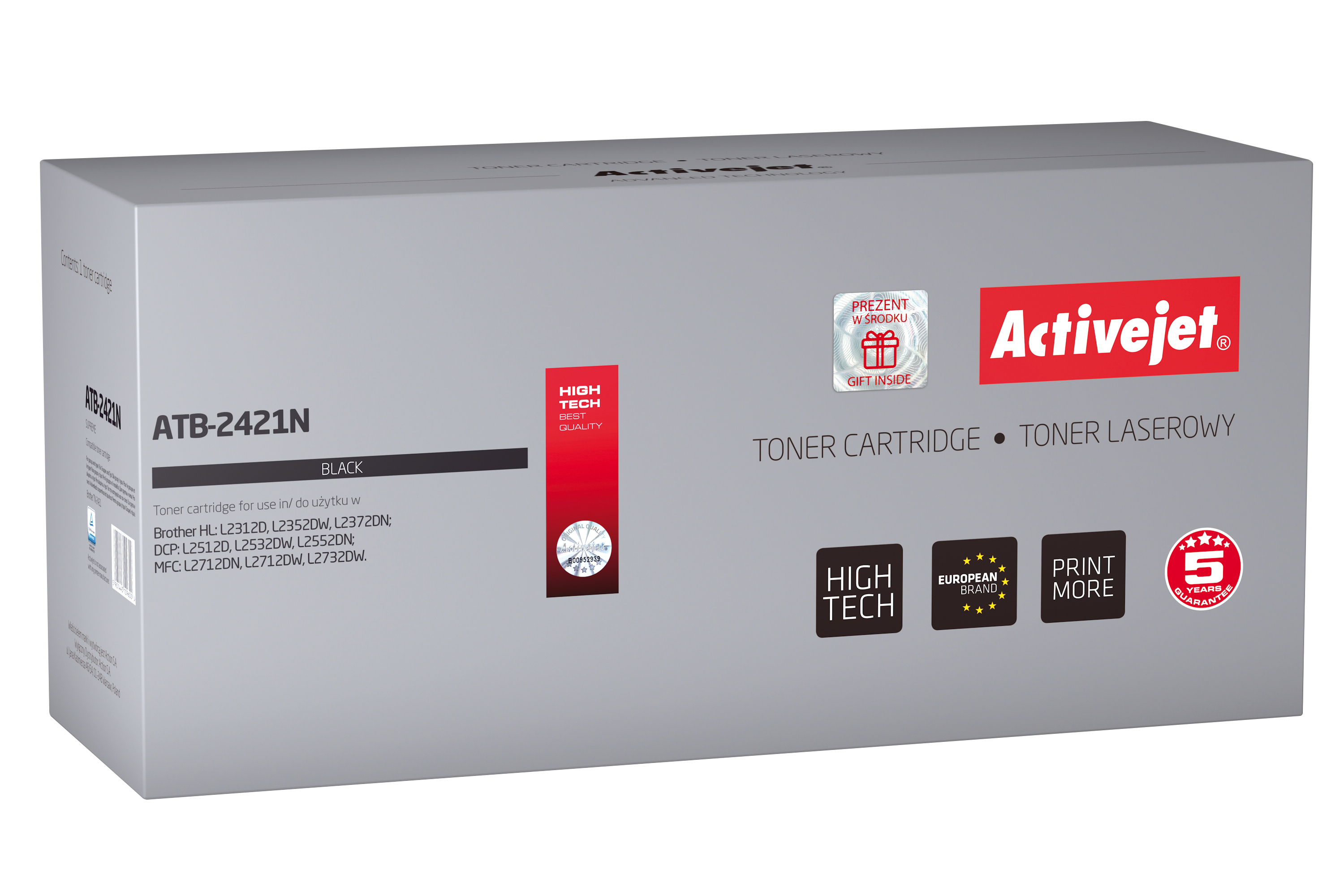 Activejet toner do Brother TN-2421 new ATB-2421N