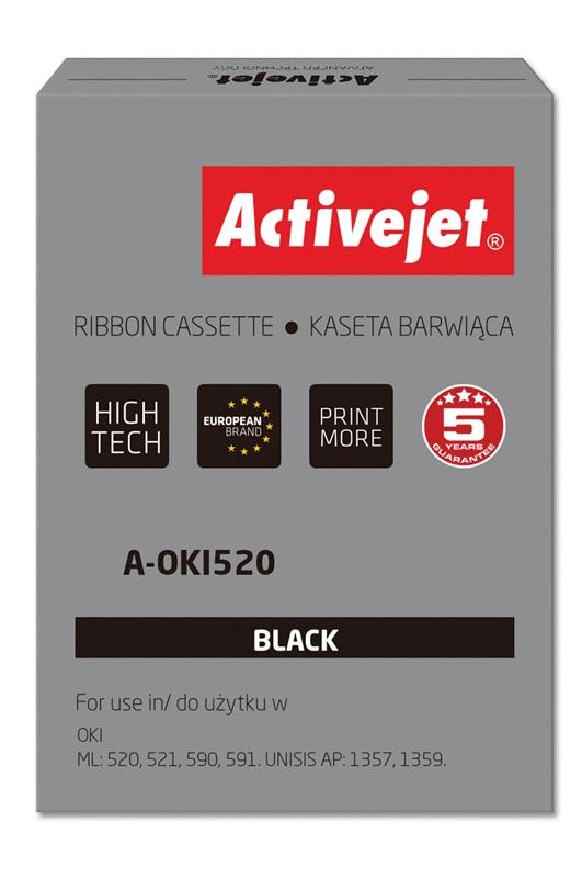 ActiveJet A-OKI520 kaseta barwiąca kolor czarny do drukarki igłowej Oki (zamienn