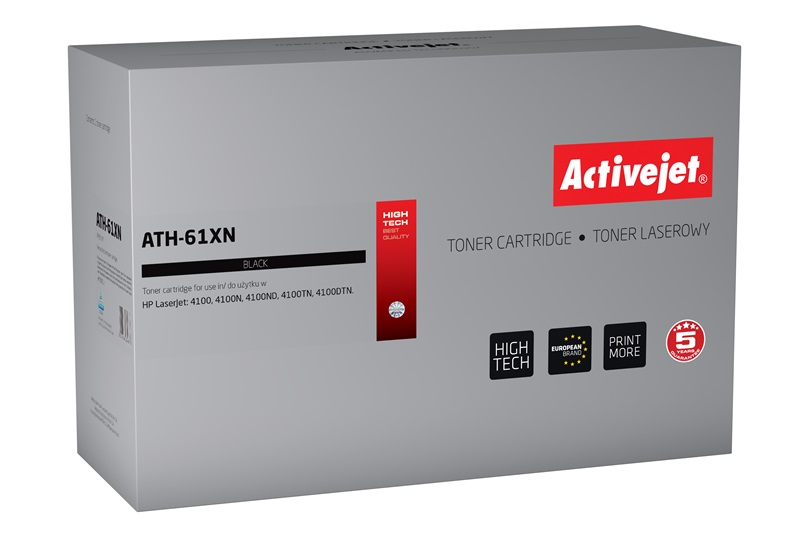 ActiveJet ATH-61XN [AT-61XN] toner laserowy do drukarki HP (zamiennik C8061X)