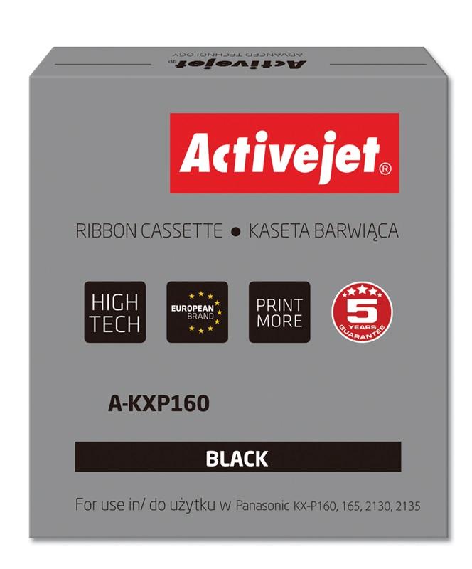 ActiveJet A-KXP160 kaseta barwiąca kolor czarny do drukarki igłowej Panasonic (z