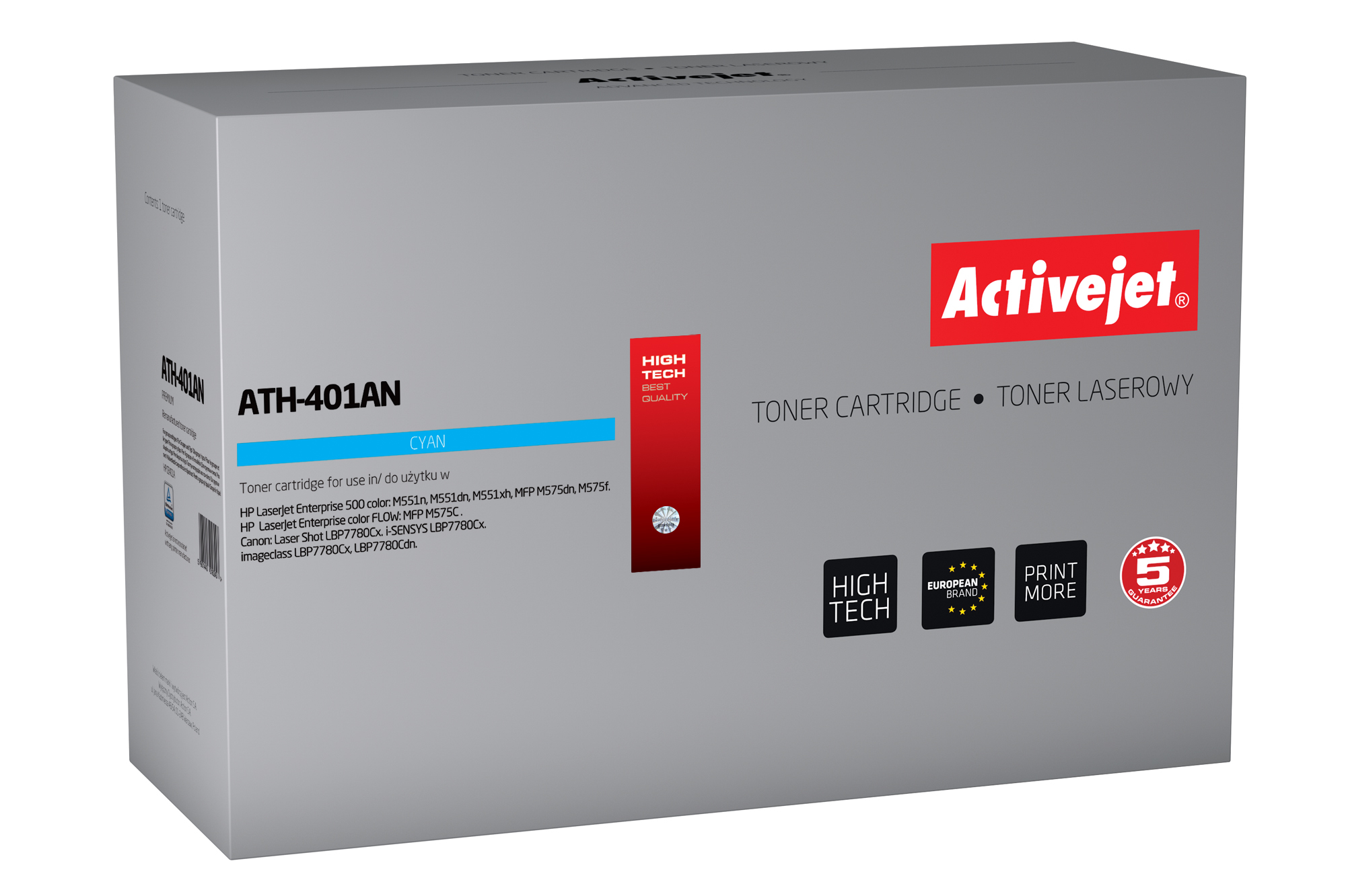 ActiveJet toner do HP 507A CE401A reg ATH-401AN
