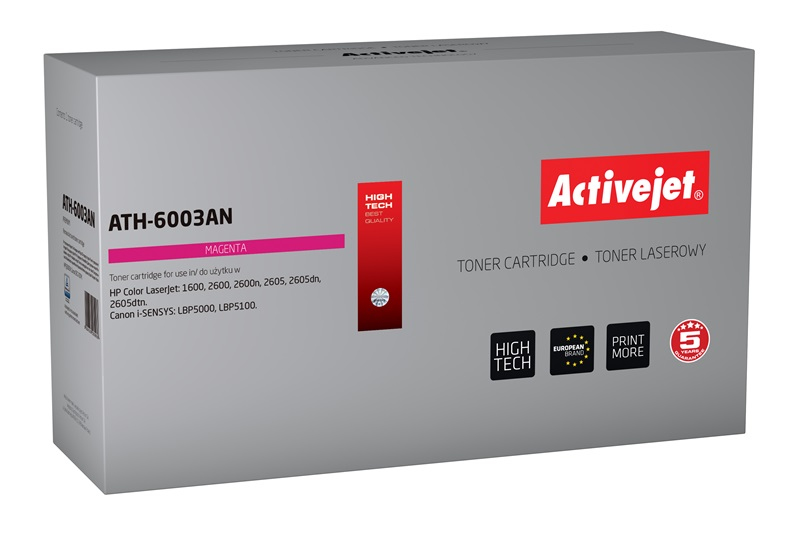 ActiveJet ATH-6003AN [AT-603M] toner laserowy do drukarki HP (zamiennik Q6003A)