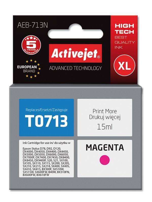 ACJ tusz Eps T0713 Magenta D78/DX4000/ DX6000 AEB-713