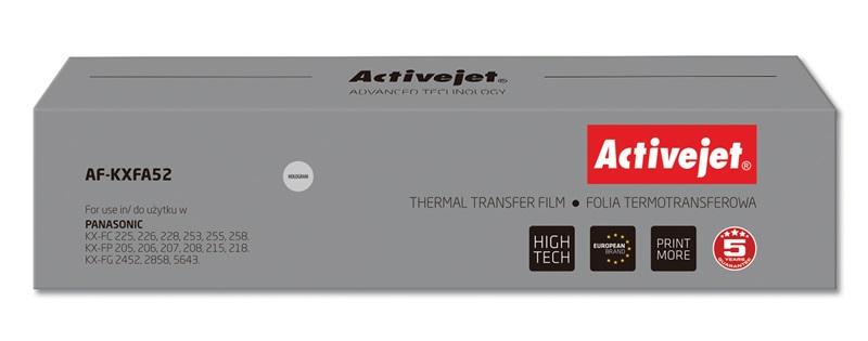 ActiveJet AF-KXFA52 folia kopiująca do faksu Panasonic 2szt. (zamiennik KX-FA52)