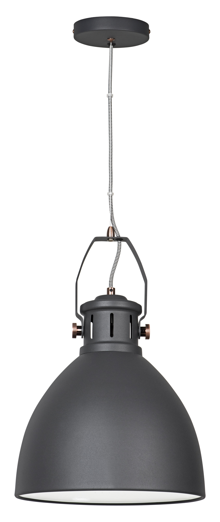Lampa wiszaca Activejet czarna AJE-SISI Black 1xE27