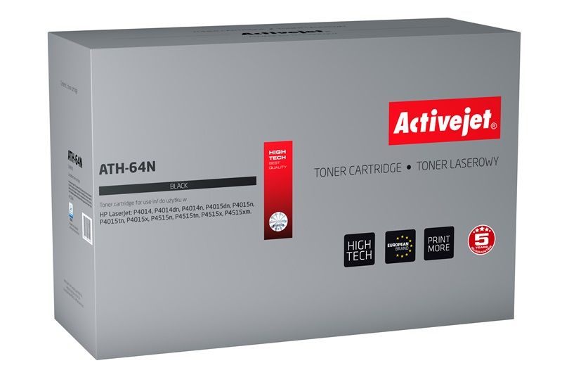 ActiveJet ATH-64N [AT-64N] toner laserowy do drukarki HP (zamiennik CC364A)