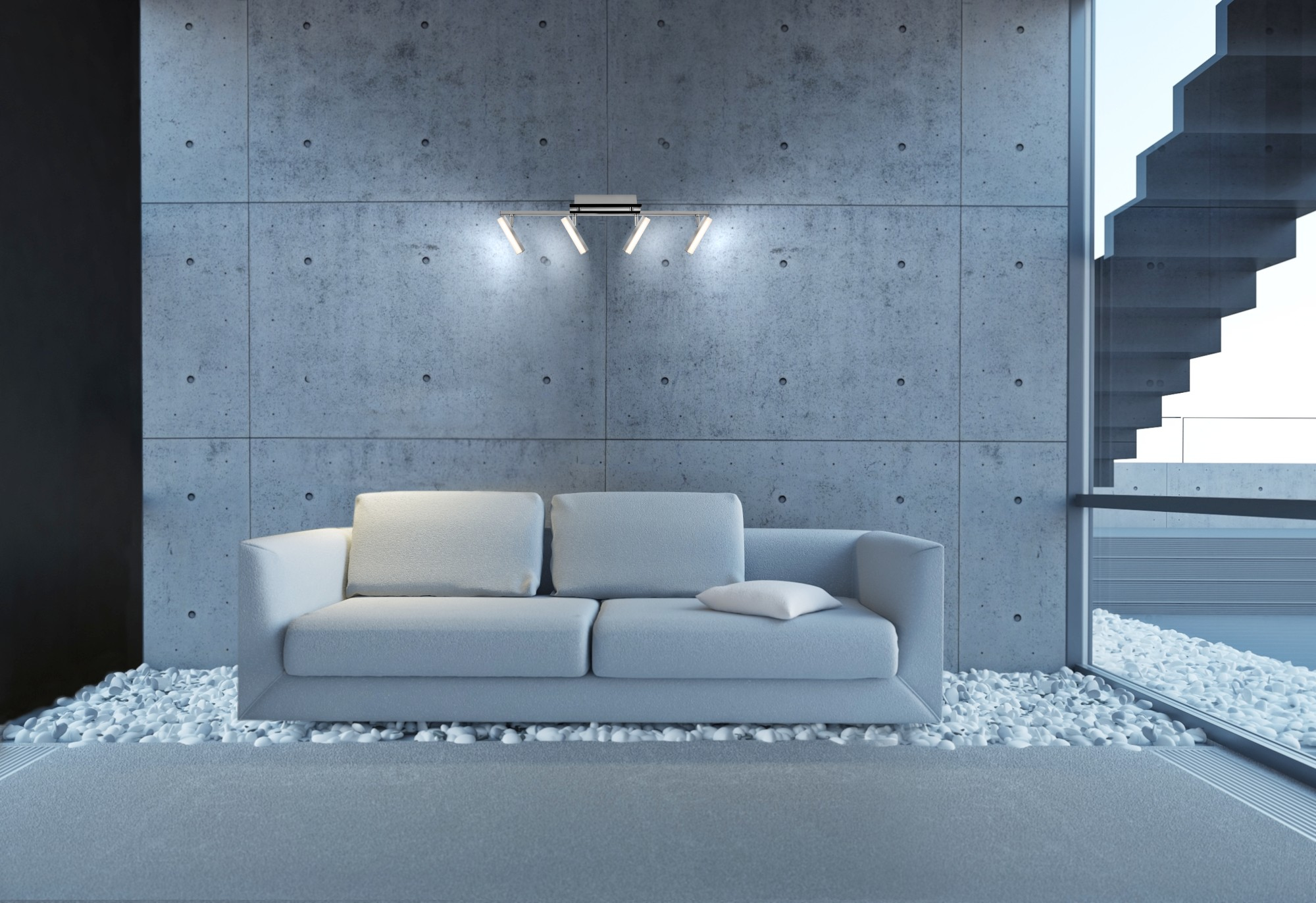 Listwa LED AJE-XENIA 4P 1600lm 4x4,6W