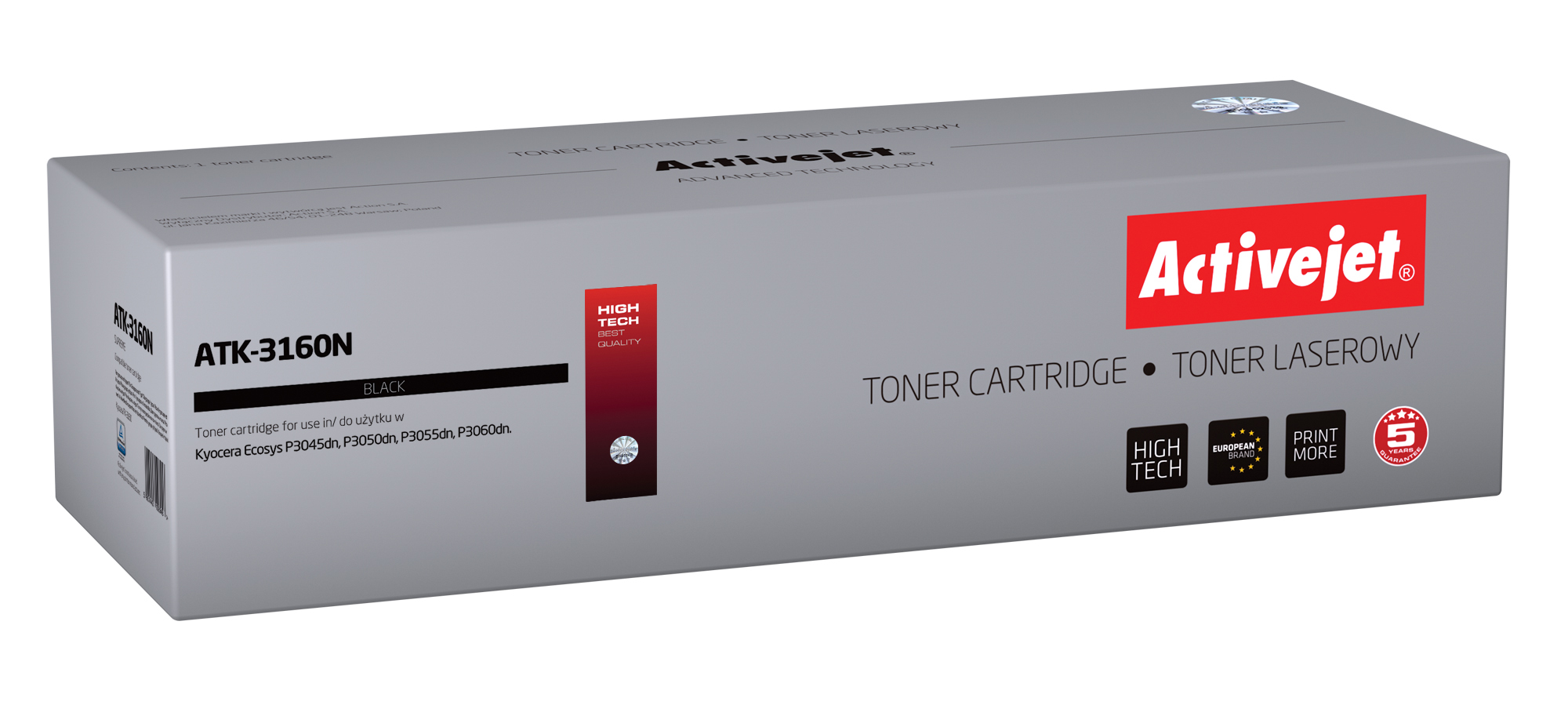 Activejet toner do Kyocera TK-3160 new ATK-3160N