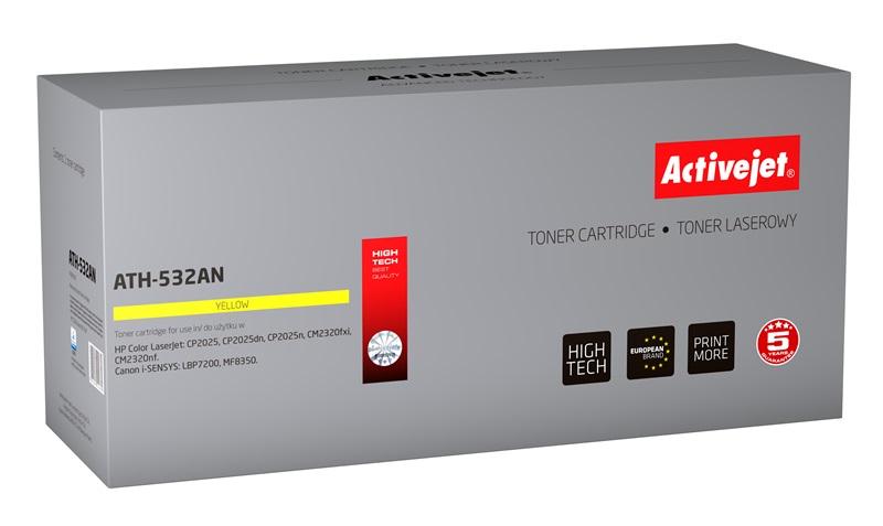 ActiveJet ATH-532AN toner laserowy do drukarki HP (zamiennik CC532A)